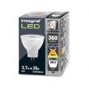 LED lemputė MR11 GU4 3.7W (35W) 2700K 360lm