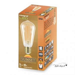 Sunset Vintage ST64 5W (40W) 1800K 380lm E27 Dimmable Lamp